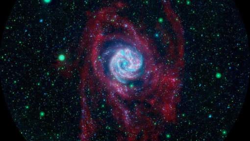 Ruimtetelescoop galex stopt na tien jaar met speuren in de diepe ruimte onweer - Ruimte tegel te leven ...