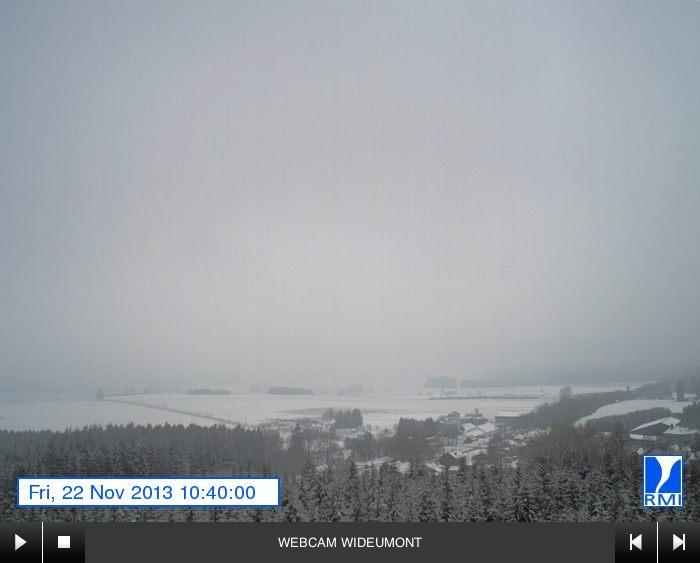 Veel sneeuw in België :: onweer-online.nl